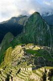Peru, Machu Picchu, Morning Art Print