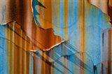 Alaska, Craig Rust Streaks And Peeling Paint On Old Travel Trailer Art Print