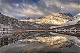 California, Sierra Nevada Range Spring Snow At North Lake 1 Art Print