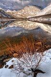 California, Sierra Nevada Range Spring Snow At North Lake 2 Art Print