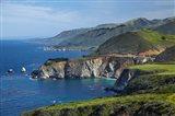 Hurricane Point, Big Sur, Californiam Usa Art Print
