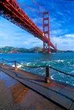 Beneath The Golden Gate Bridge Art Print