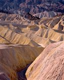 California, Death Valley NP, At Zabriskie Point Art Print