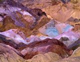 California, Death Valley Np, Artist's Palette Art Print