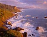 View From High Bluff Overlook To Split Rock, California Art Print
