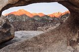California, Alabama Hills, Mobius Arch Art Print