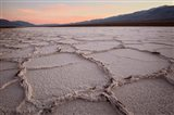 California, Death Valley Salt Flats Art Print