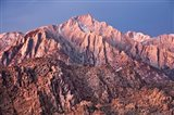 California, Alabama Hills, Eastern Sierra Nevada Mountains Art Print