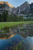 Early Morning At The Upper Yosemite Falls Art Print