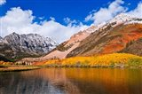 Early Snow At North Lake, Inyo National Forest Art Print