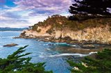 Rocky Cliff Along The Cypress Grove Trail Art Print