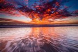 Warm Glow Over The Channel Islands Art Print
