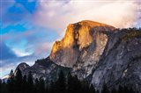 Evening Light On Half Dome, California Art Print
