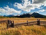 Dallas Divide, Last Dollar Ranch, Colorado Art Print