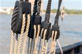 Savannah Sailboat Ropes Art Print