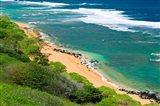 Larsen's Beach, North Shore, Island Of Kauai, Hawaii Art Print