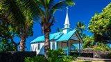 St Peter's Catholic Church, Kailua-Kona, Hawaii Art Print