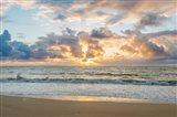 Kealia Beach Sunrise, Kauai, Hawaii Art Print