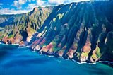 Kauai Coastline, Hawaii Art Print