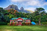 Anahola Baptist Church, Kauai, Hawaii Art Print