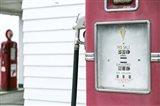 Antique Gas Pump, Route 66 Art Print