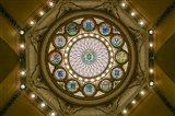 Rotunda Ceiling, Massachusetts State House, Boston Art Print