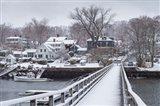 Cape Ann In The Winter, Massachusetts Art Print