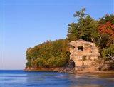 Chapel Rock Overlooks Lake Superior Art Print