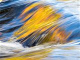 Flowing Rapids Of The Ontonagon River Art Print