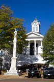 Lafayette County Courthouse, Oxford, Mississippi Art Print