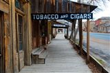 Tobacco Gold Rush Store In Virginia City, Montana Art Print