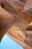 Water Filled Slot Canyon, Nevada Art Print