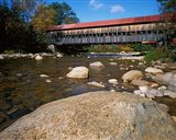 Albany Covered Bridge, White Mountain National Forest, New Hampshire Art Print