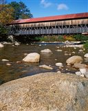 Albany Covered Bridge, Swift River, White Mountain National Forest, New Hampshire Art Print