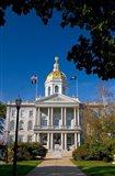 Capitol building, Concord, New Hampshire Art Print