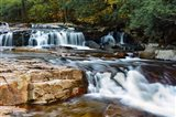 Autumn at Jackson Falls, Jackson, New Hampshire Art Print