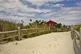 Beach Path, Cape May NJ Art Print