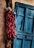 Hanging Chili Peppers, New Mexico Art Print