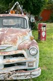 Rusted Antique Automobile, Tucumcari, New Mexico Art Print