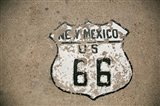 New Mexico State Route 66 Sign Art Print