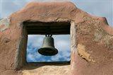 Adobe Church Bell, Taos, New Mexico Art Print