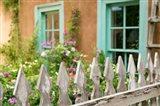 Home Garden, Taos, New Mexico Art Print