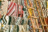 Native American Rugs, Albuquerque, New Mexico Art Print