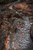 New York, Adirondack State Park Stream Eddies Art Print