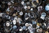 Pile Of Old Buttons Art Print