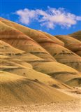 Painted Hills Unit, John Day Fossil Beds National Monument, Oregon Art Print