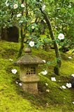 Spring Pagoda, Portland Japanese Garden, Oregon Art Print