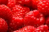 Close-Up Of Fresh Raspberries Art Print
