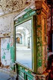 Mirror Reflection In The Eastern State Penitentiary, Pennsylvania Art Print