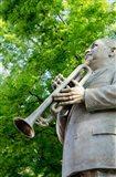 Beale Street Statue of WC Handy, Memphis Art Print